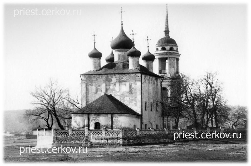 Успенский-храм-на-набережной-Воронежа_около-1934-года